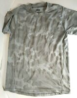 Adidas Climalite Camo T-Shirt Men's Medium Gray Short Sleeve Sports