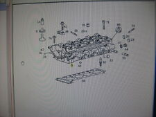 VITO Cylinder Head M111-948 2LT 98 1110104820