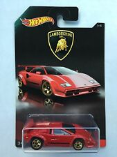 2017 HOT WHEELS - LAMBORGHINI COUNTACH 1-8 LAMBORGHINI SERIES J52