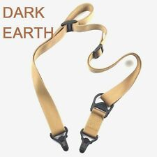 DE Rifle Sling Quick Release 1, 2 Point Strap for Magpul plate adapters
