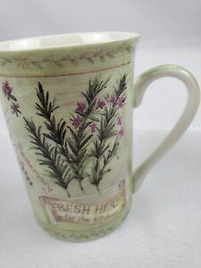 "Creativetops ""Fresh Herbs For the Kitchen"" Coffee Tea Cup Mug 12oz"
