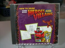 How to Draw Comic Book Heroes and Villains (PC & MAC, 1996)