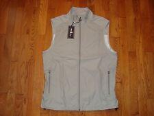 NWT $125 POLO GOLF Ralph Lauren Men's Nylon Water/Wind Vest Jacket Grey M