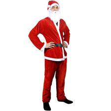 cc Vestito Custome Di Babbo Natale Feltro Adulto Uomo Taglia Unica dfh 7f011bfe3a1f