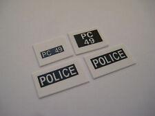 Dinky 256 - Humber Hawk Police Car Stickers - B2G1F