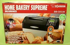 New listing Zojirushi Bb-Cec20 Black Home Bakery Supreme Bread Maker