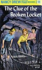 Nancy Drew: The Clue of the Broken Locket 11 by Carolyn Keene (1965, Hardcover)