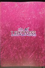"""JAPAN Ni8 Art Works vol.3 """"sin of LEWDNESS"""" Art Book"""