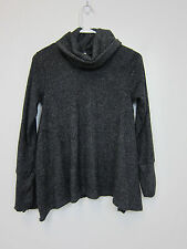 Sage Turtle Neck Sweater - Womens Small - Black - NWT