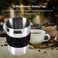 Stainless Steel Coffee Powder Precision Dosing Cup Bottle for Grinder Accessory