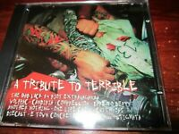V/A - A TRIBUTE TO TERRIBLE CD 1999 BAD LUCK 13 WOLFPAC E TOWN CONCRETE CANDIRIA