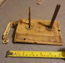 """Vintage Reclaimed Rim Door lock Door catch and key 6""""×4"""""""