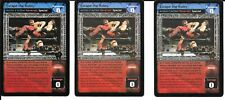 WWE RAW DEAL - 3X Escape The Rules *FREE SHIPPING* RARE Action / Reversal MULTI