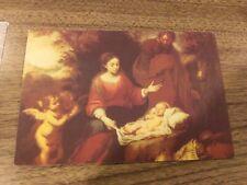 PAUL & ELVIRA NASCHY AUTOGRAPHED SIGNED CHRISTMAS CARD 2004 RARE HORROR ICON