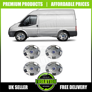 """16"""" WHEEL TRIMS TO FIT FORD TRANSIT 2006-2021 SET OF 4 BRAND NEW HUB CAPS"""