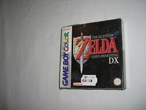 The Legend of Zelda LINK'S AWAKENING DX Nintendo Game Boy COLOR COMPLETO BELLO