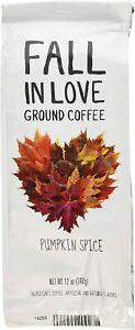 Fall In Love Pumpkin Spice Flavored Coffee, 12 Oz cafe molido