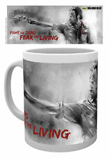 WALKING DEAD RICK FIGHT THE DEAD MUG NEW GIFT BOXED 100 % OFFICIAL MERCHANDISE