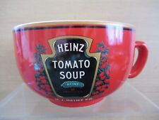 More details for 2013 heinz tomato soup cup shaped china bowl