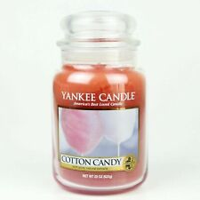 COTTON CANDY - LARGE YANKEE CANDLE JAR
