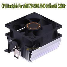 Silent CPU Cooling Fan Heatsink Radiator Cooler for AMD754 939 940 Athlon64 5200