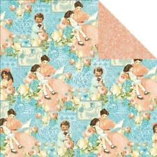 Graphic 45 2 sheets Precious Memories collection cherish, double sided