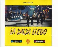 CD LOS ALFA 8LA SALSA LLEGO1992 SWITZERLAND EX (A4990)
