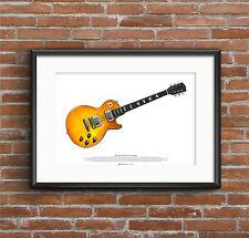 Peter Green's 1959 Gibson Les Paul Standard guitar ART POSTER A2 size