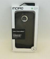 New OEM Incipio Octane Black Case For Motorola Moto Z2 Force Edition