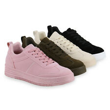 Damen Sneakers Sneaker Wedges Mini-Keilabsatz 814404 Schuhe