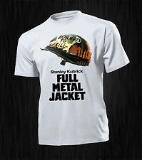 T-SHIRT UOMO HAPPINESS REGALO ESTATE  DIVERTENTE  FULL METAL JACKET