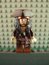 Lego Minifig ~ Pirates of the Caribbean ~ Captain Jack Sparrow ~ 4195 4193 4194