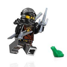 LEGO NinjaGo MiniFigure - Cole (Hands of Time, w/ Black Armor) Set 70623