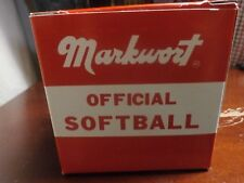 Markwort Official Softball Scds11 11 Inch Cork Core Khoury League New