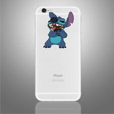iPhone 6/6s/7/8/X Stitch hugging Apple decal Disney sticker art (NEW)