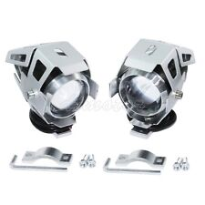 2X CREE U5 Driving Spot Light For Honda Shadow VLX 600 Aero Phantom Spirit 750
