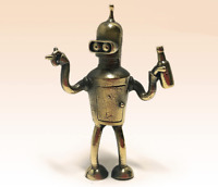 Bender Rodriguez futurama Miniature Bronze Figurine sculpture art rare