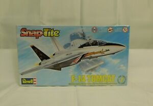 REVELL 85-1180 SNAPTITE  F-14 TOMCAT 1/72 SCALE LVL 1 MODEL KIT SEALED