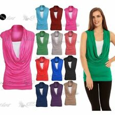 Cowl Neck Dresses for Women with Ruched