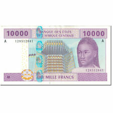 [#604578] Banknote, Central African States, 10,000 Francs, 2002, Undated (2002)