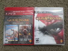Lot of 2 NEW PS3 Games: God of War Collection & III bundle sony playstation 3