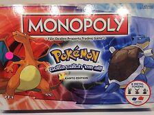 Monopoly: Pokemon Kanto Region Edition Board Game (New, Sealed)