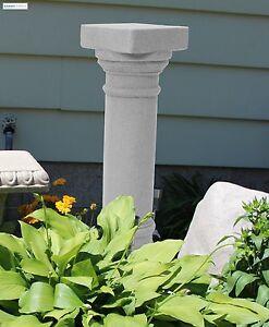 Greek Column Stand Outdoor Plant Flower Pedestal Garden Statue Yard Decoration