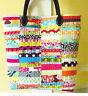 PATTERN - Scrap Happy Purse - fun pieced bag PATTERN - Crazy Mom Quilts