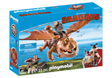 Playmobil 9460 Dreamworks Dragons Fishlegs & Meatlug MIB / New