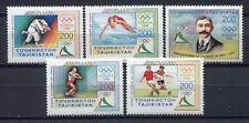 s936) TAJIKISTAN TAGIKISTAN 1996 MNH**  Atlanta Olympic games 5v