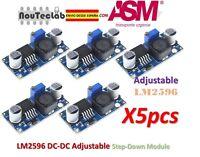 5pcs LM2596 DC-DC Adjustable Voltage Regulator Step Down Power Supply LM2596S