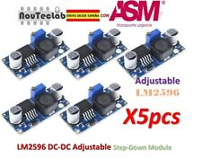 5pcs LM2596 DC-DC Adjustable Voltage Regulator Step Down Power Supply LM2596S