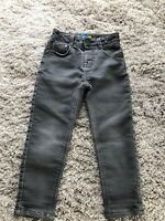 Ted Baker Boys Trousers Jeans Age 4 Grey Skinny Fit Cotton Soft Casual Winter