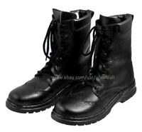 Ghillie Boots Black Leather Ghillie Boots Scottish Kilt Shoes UK Sizes 7-12